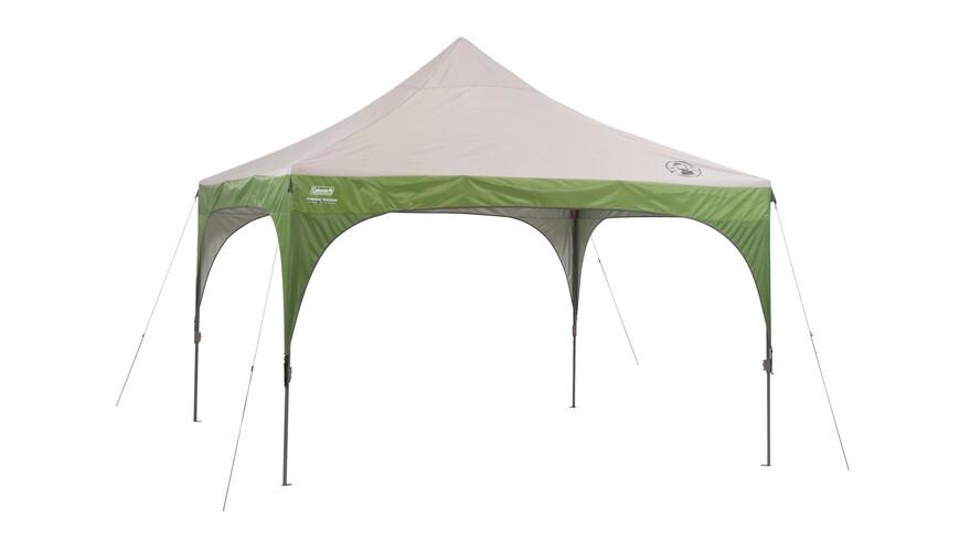 Coleman Instant pavillion 3,65 x 3,65 meter groen/wit